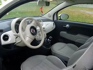 Fiat 500 Interieur : troc echange fiat 500 diesel lounge 1 3 mtj funky white sur france ~ Gottalentnigeria.com Avis de Voitures