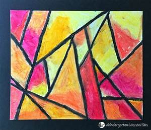 Easy Oil Pastel Art Easy Oil Pastel Watercolor Project For ...