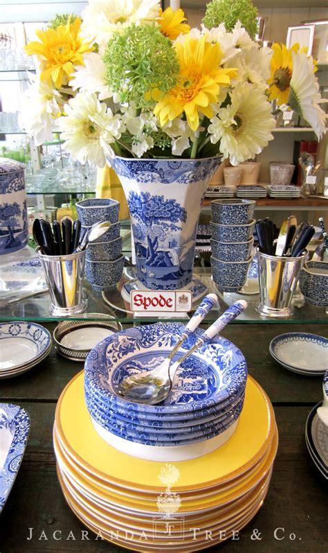 spode china jacaranda tree toronto wear stunning table dinnerware willow pottery dinner dishes wedgewood yellow trees italian antique bread delft