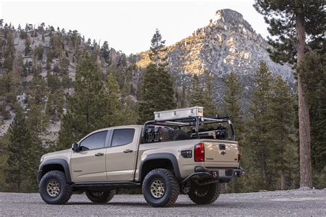 Chevy Colorado Concepts Built For Overlanding, Desert