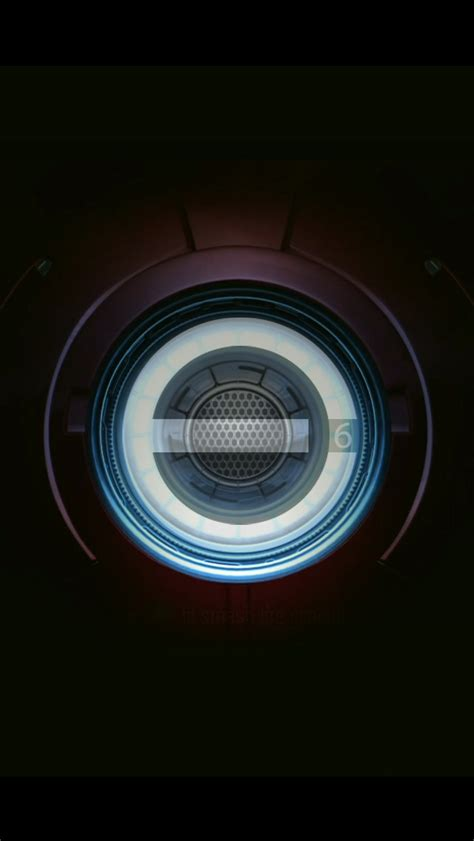 iron man chest pacemaker plate iphone  wallpaper hd