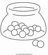 Colorare Caramelos Caramelle Colorear Dibujos Disegni Dulces Vaso Recipiente Pintar Bonbon Imagenes Caramella Disegno Dibujo Alimenti Coloring Imprimir Malvorlagen Dibujosparacoloreargratis sketch template
