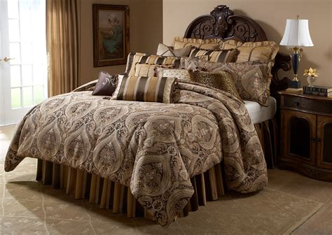 lucerne queen 12 pcs comforter set from aico bcs qs12