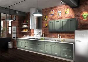 Cuisine Moderne En Bois : cuisine bois moderne arbois sagne cuisines ~ Preciouscoupons.com Idées de Décoration