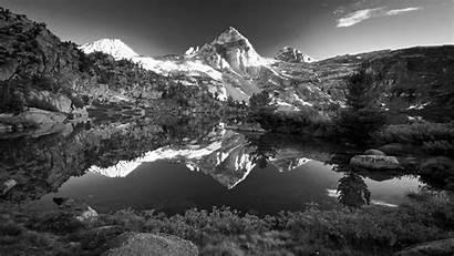 Mountain Landscape Norway Monochrome Wallpapers Desktop Backgrounds