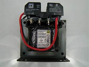 Square D  15 Kva Control Transformer 220  440 Pri 110v Sec