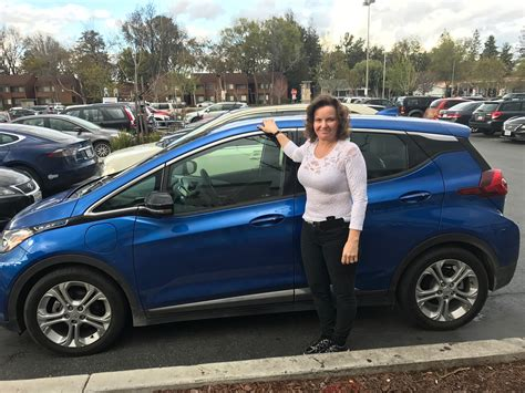 chevy bolt ev  mile trip   mile electric car