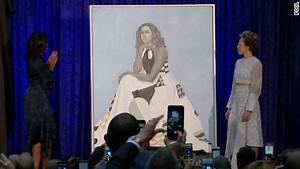 See Michelle Obama's portrait unveiled - CNN Video