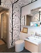 The Cheap Way Giving Your Bathroom New Looks Using Bathroom Wallpapers Pinterest The World S Catalog Of Ideas Divine Bathroom Shower Ideas Basic Bathroom Remodel Ideas Small Small Bathroom Tile Ideas Pinterest Home Design Ideas