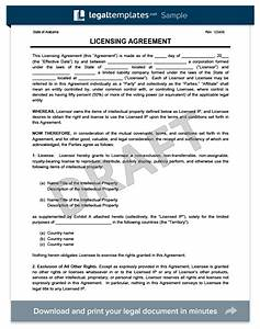 licensing agreement template create a free license agreement With commercial property licence agreement template