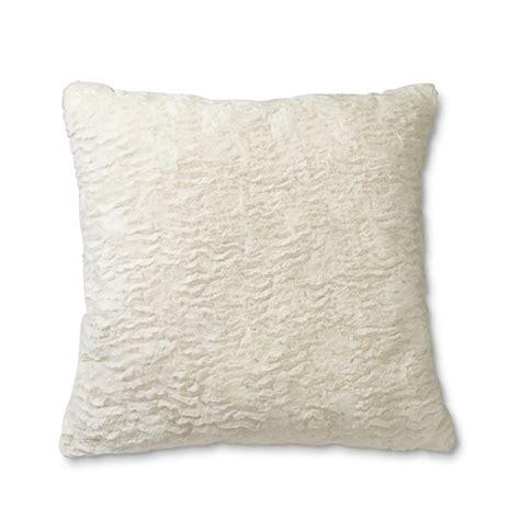 faux fur decorative pillows cannon faux fur throw pillow home bed bath bedding