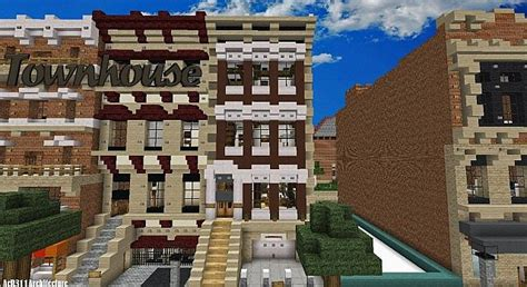 townhouse ft torworthy traditional minecraft project