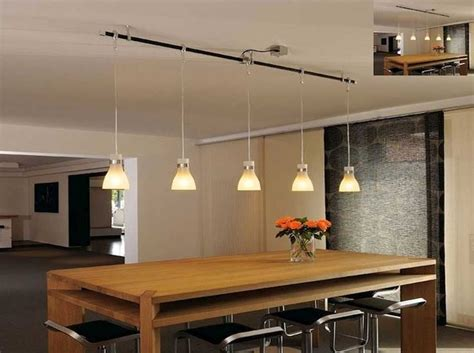lighting ideas awesome track lighting pendants  dining table decor dining lighting
