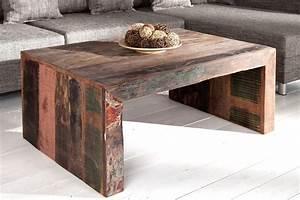 Table Basse Design Bois : table basse bois jakarta chloe design ~ Teatrodelosmanantiales.com Idées de Décoration