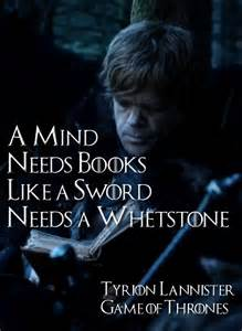Tyrion Lannister a Mind Needs Books