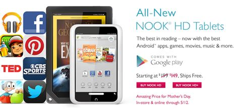 Barnes And Noble Slashes Prices On The Nook Hd And Nook