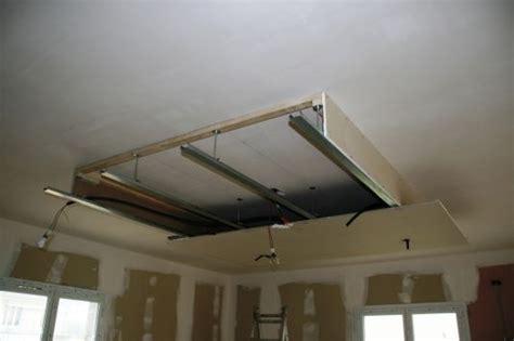 installation faux plafond deco placo photos et ps