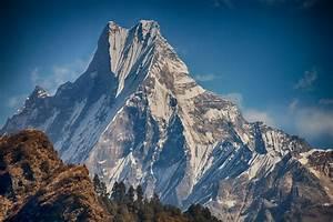 Machapuchare mountain, Annapurna, Nepal | View of ...