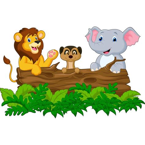 chambre disney stickers muraux enfant animaux jungle réf 15221 stickers