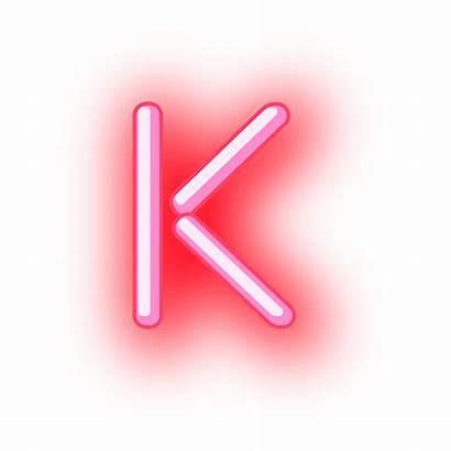 Letter Neon Text Letterhead Transparent Vector Vexels