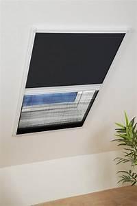 Insektenrollo Für Dachfenster : hecht insektenschutz dachfenster rollo wei schwarz bxh ~ Watch28wear.com Haus und Dekorationen