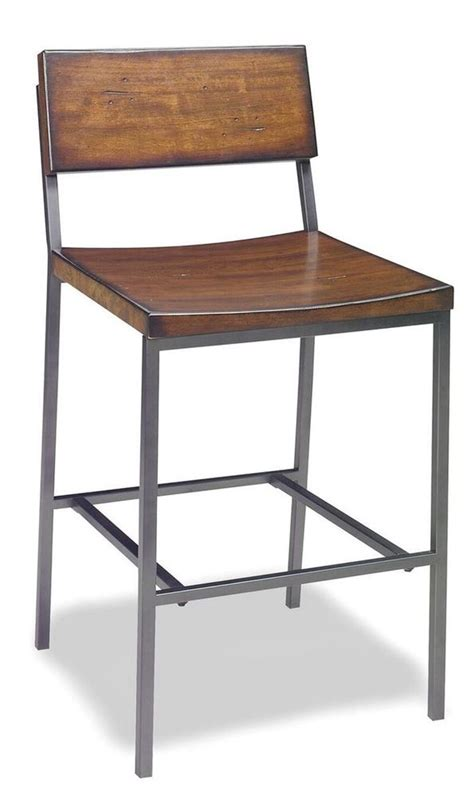 details  square wooden seat bar counter stool high