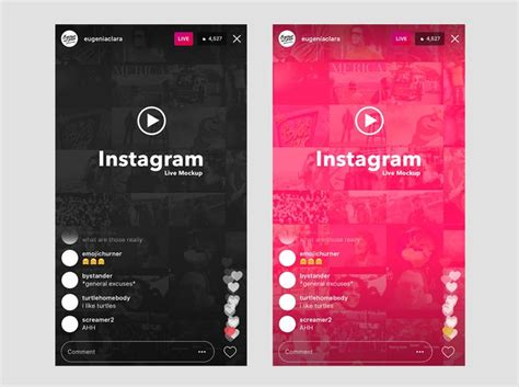 instagram mockup psd template   kinds