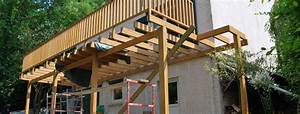 agreable construire terrasse sur pilotis 2 comment With construire terrasse sur pilotis