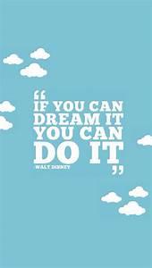 Walt Disney Quote. Amazing. | iPhone Wallpapers ...