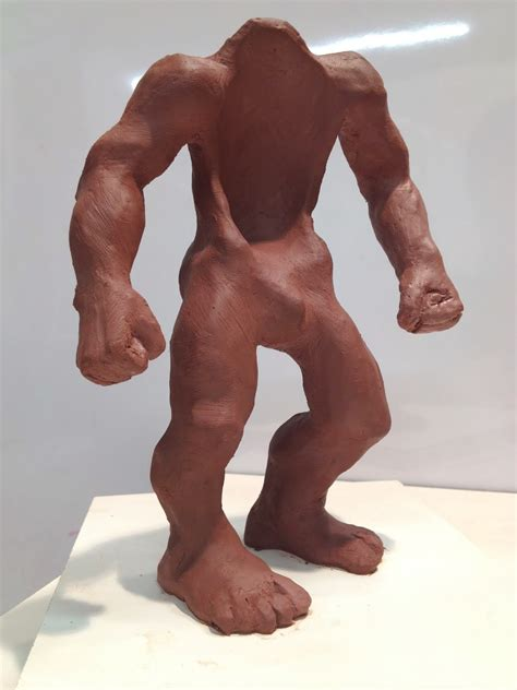 Daily Sculptures: Muscle Suit