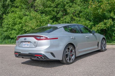 2019 Kia Stinger Gt2 by 2018 Kia Stinger Gt2 Awd V6 Review Update Tilting At