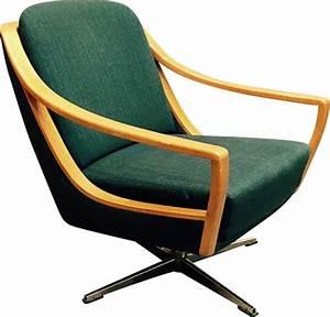Fauteuil Vintage Scandinave : fauteuil vintage pivotant design scandinave 1950 design ~ Dode.kayakingforconservation.com Idées de Décoration