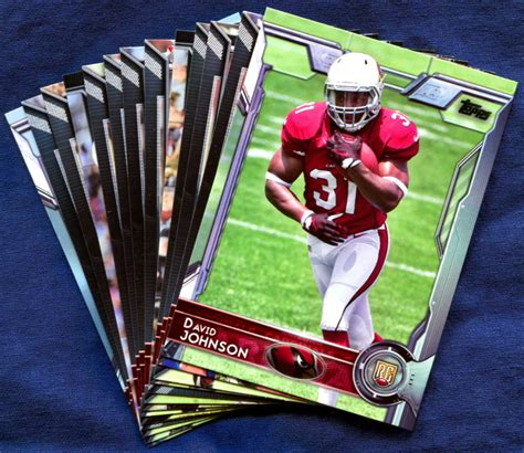 2015 Topps Arizona Cardinals NFL Football Card Team Set