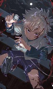 Killua by DATimya | Hunter anime, Hunter x hunter, Anime