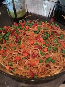 Yakisoba Noodles - I made this stuff up! Cooking with Mimi