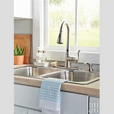 How To Install A Sink And Faucet  Better Homes & Gardens