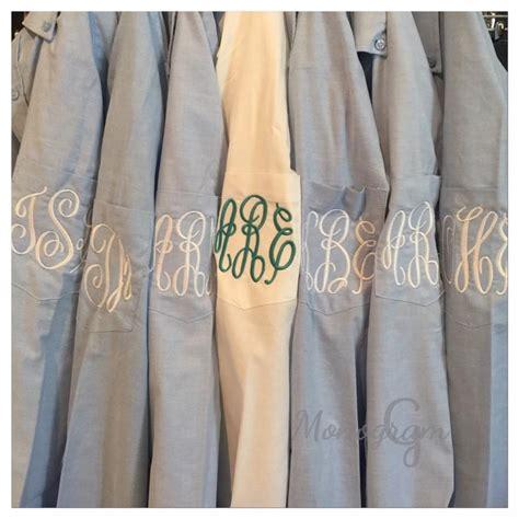 monogrammed shirt monogrammed oxford monogrammed button