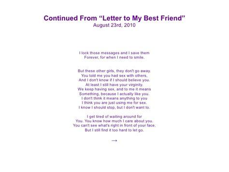 best friend letter 30 letters 30 days 32211
