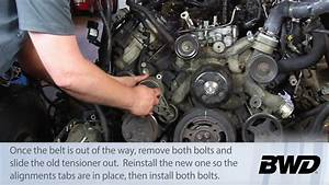 How To Replace A Powerstroke Belt Tensioner