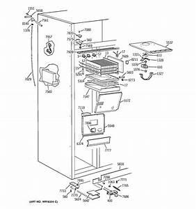 Ge 42 U0026quot  Monogram Ref Freezer Section Parts