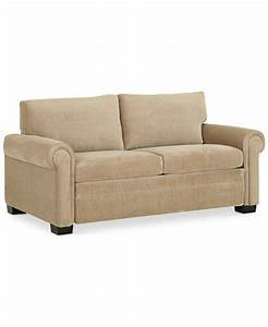 Radford sofa bed full sleeper 71quotw x 40quotd x 35quoth for Sectional sofa bed macys