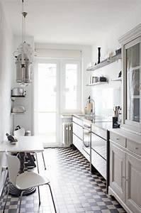 31, Stylish, And, Functional, Super, Narrow, Kitchen, Design, Ideas