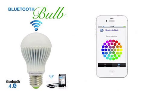 bluetooth bulb lets you your lighting from your