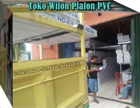 harga plafon pvc wifon bogor per meter dan terpasang