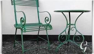 Gartentisch Metall Antik : gartentisch orane aus schmiedeeisen ~ Watch28wear.com Haus und Dekorationen