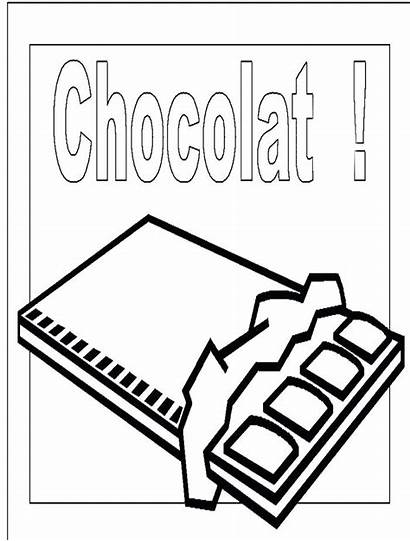 Coloring Pages Chocolate Sweet Bar Chocolatebar Getcolorings