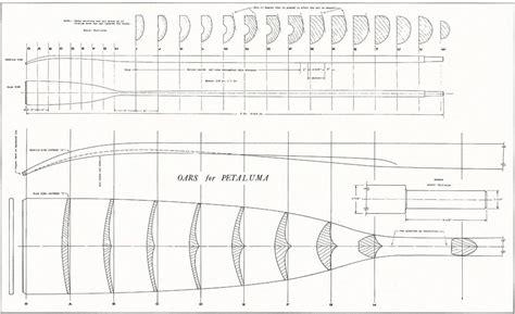 classic sculling oar wood