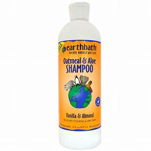 earthbath oatmeal aloe shampoo vanilla almond 16 fl oz With earthbath dog shampoo