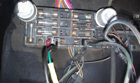 1973 Fuse Box by 1965 Chevy C10 Up Fuse Box Fuse Box And Wiring Diagram