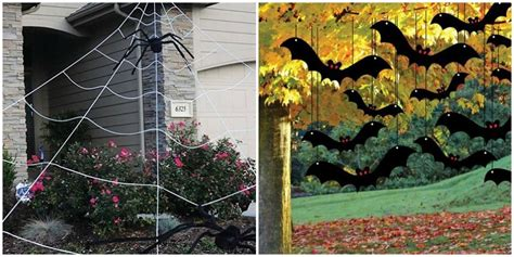 outdoor halloween decoration ideas creative